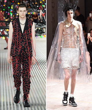 The 11 Most Outrageous Looks from Men's Fashion Week