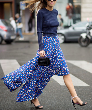 PARIS, FRANCE - SEPTEMBER 29:  Patricia Manfield is wearing a Stella McCartney skirt and a Kenzo top in the streets of Paris during the Paris fashion week on September 29, 2014 in Paris, France.  (Photo by Timur Emek/Getty Images)