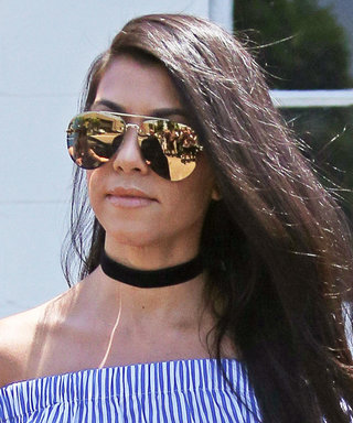 Kourtney Kardashian Proves the Off-the-Shoulder Top Is the Perfect Summer Staple