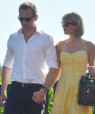 Taylor Swift and Tom Hiddleston Look Smitten as They Share a Kiss in Rome