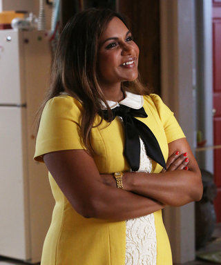 Get All of the Details on Mindy Kaling's Custom-Made Dress from The Mindy Project Season Finale