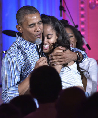 President Obama Serenades His Daughter Malia for Her 18th Birthday