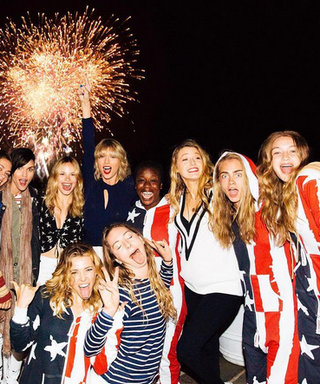 Taylor Swift Hosts an Epic 4th of July Beach Party with Tom Hiddleston, Gigi Hadid, Blake Lively, and More Celebs