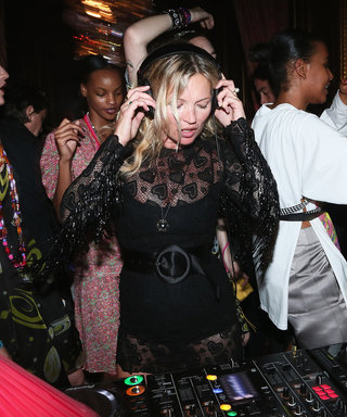 Kate Moss Practices Her DJ Skills at Miu Miu's Resort 2017 Presentation and Party