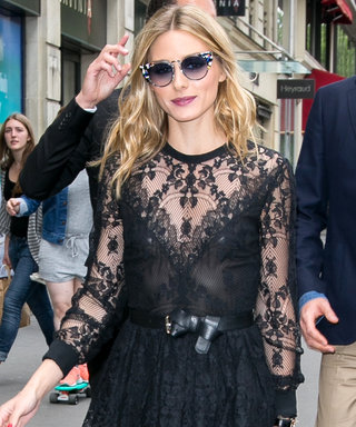 Olivia Palermo Dazzles in Two Perfect Looks at Couture Fashion Week