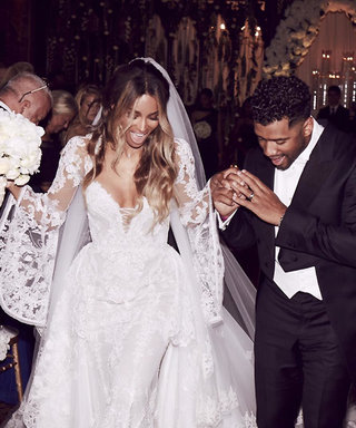 Take a Close-Up Look at Ciara's Marvelous Cavalli Couture Wedding Gown