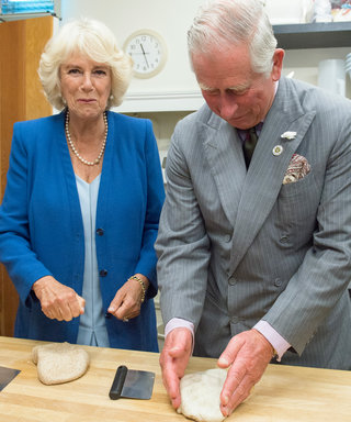 Prince Charles and Duchess Camilla Battle It Out in a Bread-Kneading Competition