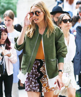 Olivia Palermo Puts aFresh Spin on the Floral Skirt