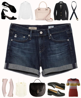 3 Ways to Elevate Your Denim Shorts