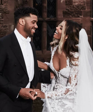 "Ciara Shows Off Her Stunning Extra-Long Bridal Veil and Its One ""Surprise"" Detail"