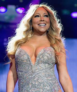 See Mariah Carey Step Off of a Plane in One of Her Most Memorable Outfits Ever