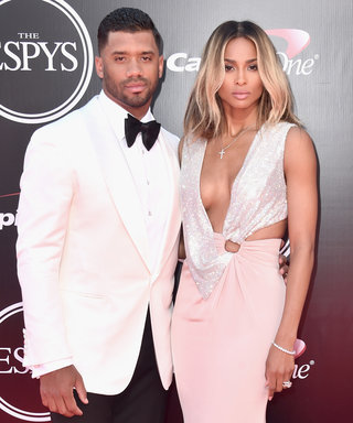Ciara and Russell Wilson Make First Red Carpet Appearance as Married Couple at 2016 ESPY Awards