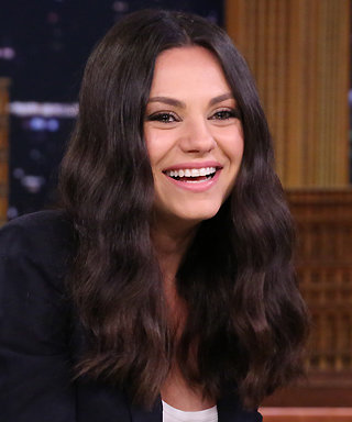 Mila Kunis and Jimmy Fallon Cannot Keep It Together Acting Out a Tinder Date Using Funny Photo Booth Filters