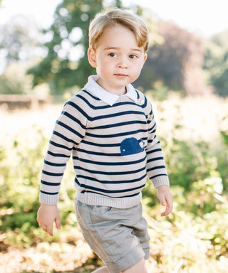 Prince George Plays on a Swing in His Brand-New Birthday Portraits