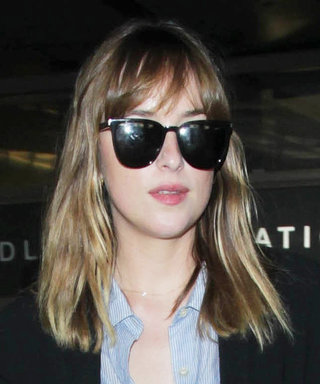 Dakota Johnson Returns to L.A. After Weeks of Filming Fifty Shades in France