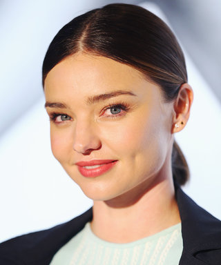 Miranda Kerr Looks as Pretty as a Bride in a White Ensemble Days After Announcing Engagement