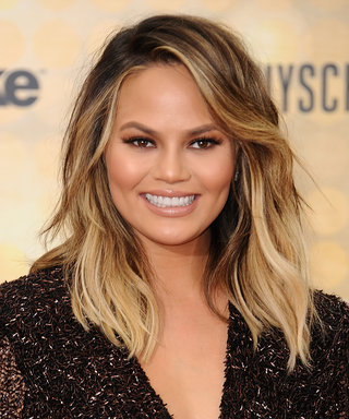 Chrissy Teigen's New Haircut Will Make You Want Bangs