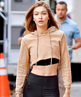 Gigi Hadid Wears Two Ab-Baring Crop Tops in One Day