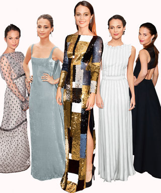 The 9 Dresses (and 1 Pair of Pants) That Cemented Alicia Vikander's Style Icon Status