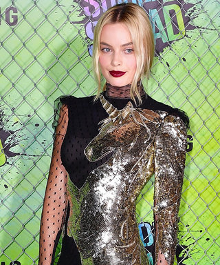 Margot Robbie Literally Wore a Dazzling Unicorn to the New York Suicide Squad Premiere