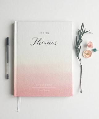 5 Really Pretty Wedding Guest Books You'll Want to Display Forever