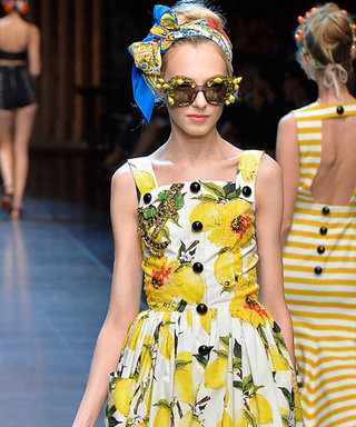 Can't Get Your Hands on the Dolce Lemon-Print Dress? Get the Print on Your Nails Instead
