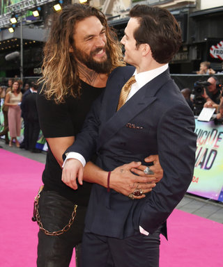 Our New Favorite Bromance: See Game of Thrones's Jason Momoa Sneak Up on Henry Cavill
