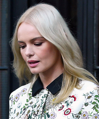 Kate Bosworth Is Garden-Party Ready in a Floral Giambattista Valli Suit in N.Y.C.