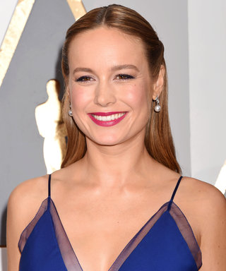 Brie Larson Cries Tears of Joy While Meeting Mickey Mouse at Disneyland
