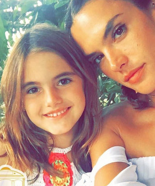 Alessandra Ambrosio Celebrates the Olympics in Rio with Her Look-Alike Kids