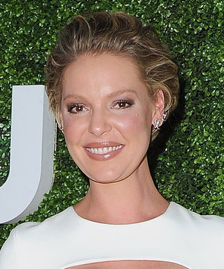 Katherine Heigl Dazzles In White Cutout Dress In First Red Carpet Appearance Since Announcing Pregnancy