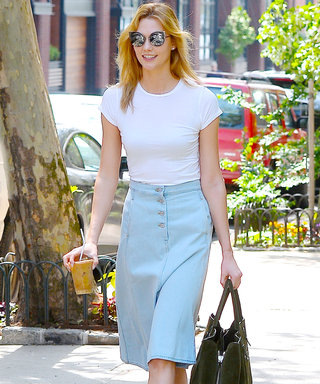 How to Pick the Most Flattering Denim Skirt for Your Body Type