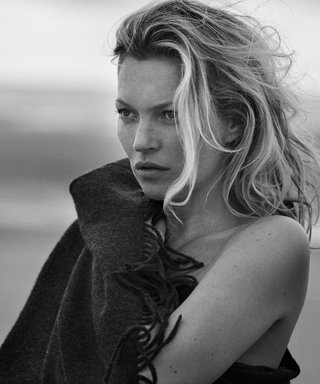 Kate Moss Strips Down for a Sexy New Campaign for Naked Cashmere
