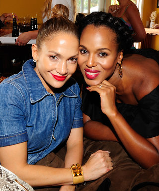 Kerry Washington, J.Lo, Amy Adams, Lea Michele, and More Unite for a Splendid Girls' Day at Annual L.A. Shopping Party