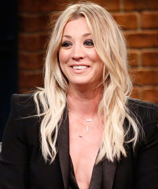 Stop What You're Doing and Admire Kaley Cuoco's New Lob
