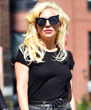 Lady Gaga Switches It Up in N.Y.C with Two Monochromatic Ensembles