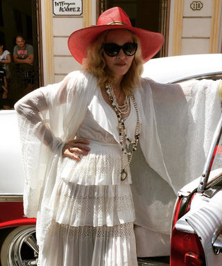 Madonna Shared the Sweetest Family Photos of Her Kids Lourdes and David in Cuba