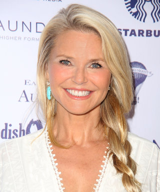 Christie Brinkley Shows Off Her Toned Legs in White Daisy Dukes