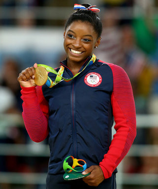 Olympic Gymnast Simone Biles Finally Visits the Pretty Little Liars Set