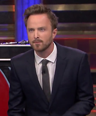 Watch Aaron Paul Show Off His Competitive Side in a Game of Musical Beers