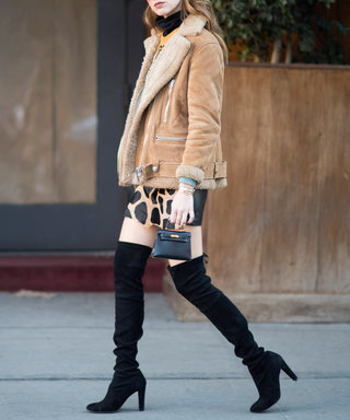 6 Ways to Show Off Your Over-The-Knee Boots with a Skirt