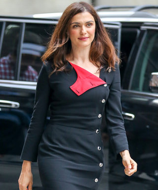 Rachel Weisz Is All Buttoned Up in Her Latest Street Style Look