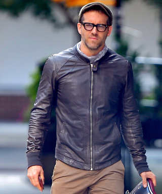Ryan Reynolds Proves He's a True Badass While Riding His Motorcycle in N.Y.C.