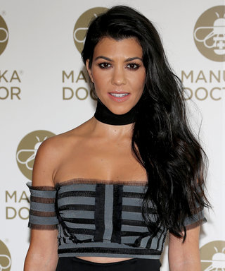 Kourtney Kardashian Channels Vintage Britney Spears with a Yellow Python at a Kid's Birthday Party