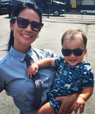 "Lucy Liu Celebrates Son Rockwell's First Birthday: ""This Has Been the Most Incredible Year"""