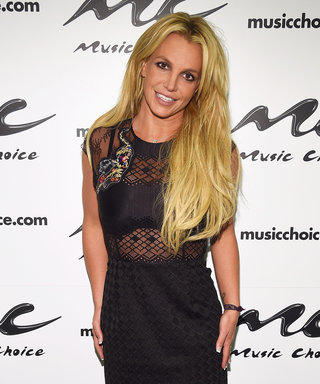 Britney Spears Sizzles in a Sheer Black Minidress in New York City