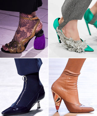 The Most Interesting Heel Shapes from the Fall 2016 Runway