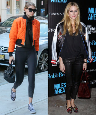 Where to Buy the Bomber Jackets That Gigi, Bella, and Olivia Love