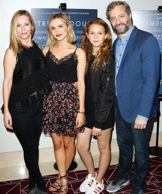 Leslie Mann and Judd Apatow's Teenage Daughters Look All Grown Up at the Other People Premiere