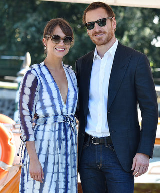 7 Times Alicia Vikander and Michael Fassbender Were the Cutest Couple Ever